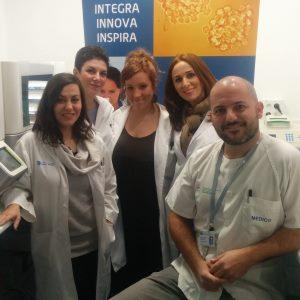 Miguel Ángel Berciano y sus colaboradores